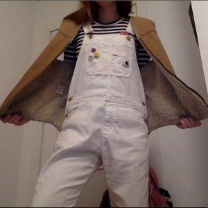 Shearling carhartt vest